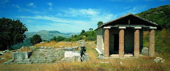 templi italici schiavi di Abruzzo