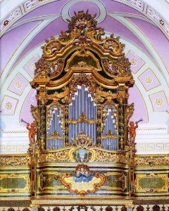 organo della chiesa di S. Giovanni Battista