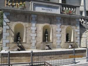 fontana municipale di Carunchio