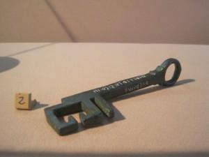 la chiave di herentas trovata a Tufillo (ch)