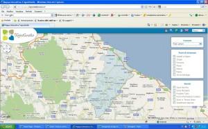mappa interattiva del vastese