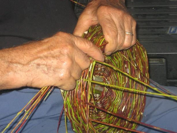 Riscoprire gli antichi mestieri intrecciare cestini di salice for Rami di salice