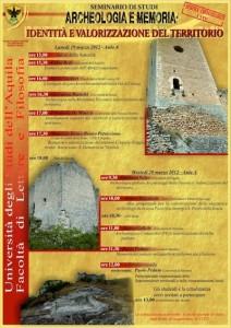 Archeologia e Memoria