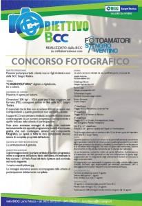 concorso fotografico obiettivo BCC
