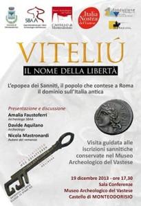 epopea dei sanniti Viteliù Nicola Mastronardi