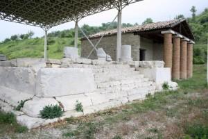 museo di schiavi e templi italici di schiavi di abruzzo