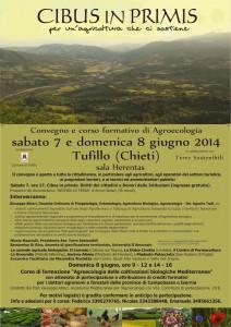 Agricoltura ecologico 7 e 8 giugno Tufillo (Ch)