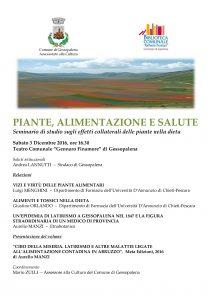 Seminario a Gessopalena 3 dicembre 2016