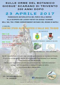 giornata di studio nel parco delle Morge Salcito (CB) 23 aprile 2017